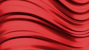 Abstracte vloeibare rode achtergrond stock illustratie