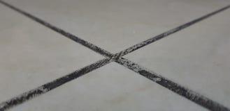 Abstracte vloeroppervlakte in de vorm van een kruis royalty-vrije stock fotografie