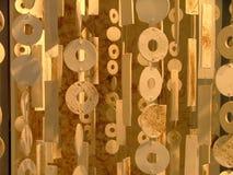 Abstracte voorwerpen stock foto