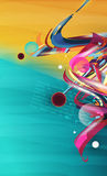 Abstracte vorm, ontwerpelementen vector illustratie