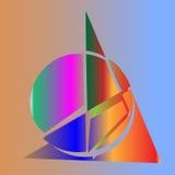 Abstracte vormen Royalty-vrije Stock Afbeelding