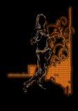 Abstracte vrouw   Stock Afbeeldingen