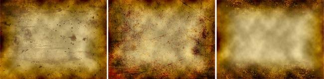 Abstracte Vuile Oppervlakten vector illustratie