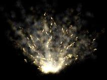 Abstracte vulkaanuitbarsting Royalty-vrije Stock Foto
