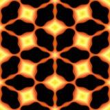 Abstracte vurige geometrische textuur of achtergrond gemaakt naadloos Stock Afbeelding