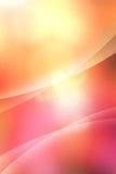 Abstracte warme krommen Stock Foto