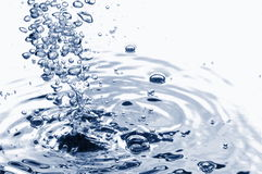 Abstracte waterachtergrond royalty-vrije stock afbeelding