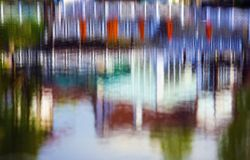 Abstracte waterachtergrond Royalty-vrije Stock Foto's