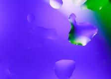 Abstracte waterdalingen Stock Foto