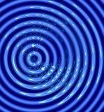 Abstracte waterrimpelingen vector illustratie