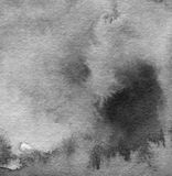 Abstracte waterverf geschilderde achtergrond Stock Foto's