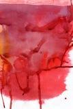 Abstracte waterverfachtergrond Royalty-vrije Stock Foto's