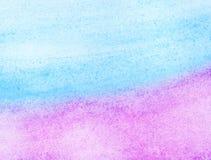 Abstracte waterverfachtergrond. Stock Foto