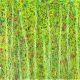 Abstracte waterverfachtergrond. Royalty-vrije Stock Afbeelding