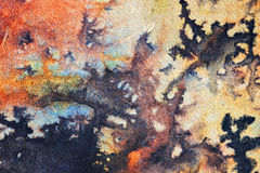 Abstracte waterverfachtergrond royalty-vrije stock afbeeldingen