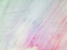 Abstracte Waterverfachtergrond, Royalty-vrije Stock Afbeelding