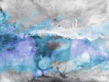 Abstracte Waterverfachtergrond, Royalty-vrije Stock Fotografie