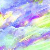 Abstracte Waterverfachtergrond, Royalty-vrije Stock Afbeeldingen