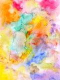 Abstracte waterverfachtergrond - getrokken hand royalty-vrije illustratie