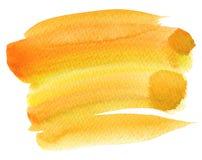 Abstracte waterverfhand geschilderde achtergrond Royalty-vrije Stock Foto's