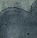 Abstracte waterverfhand geschilderde achtergrond Stock Afbeeldingen