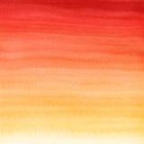 Abstracte waterverfhand geschilderde achtergrond Royalty-vrije Stock Afbeeldingen