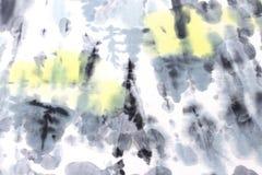 Abstracte waterverfhand geschilderde achtergrond Royalty-vrije Stock Fotografie