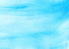 Abstracte waterverfhemel, wolken Stock Afbeeldingen