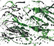 Abstracte waterverftekening Stock Afbeeldingen