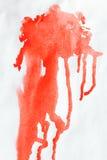 Abstracte waterverfverf Stock Afbeelding
