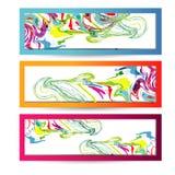 Abstracte websitekopbal of banner Vector royalty-vrije illustratie