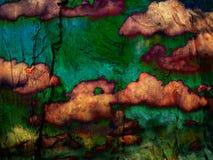 Abstracte weefselachtergrond Stock Fotografie
