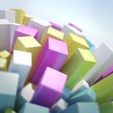Abstracte Wereld Stock Foto