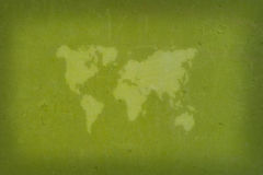 Abstracte wereldkaart Stock Foto's