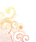 Abstracte wervelingen Royalty-vrije Stock Afbeelding