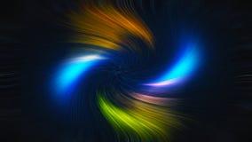 Abstracte wervelingsachtergrond Digitale kleurrijke illustratie Royalty-vrije Stock Foto