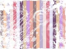 Abstracte wijnoogst Grunge vector illustratie