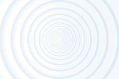 Abstracte witte achtergrondcirkeldocument stijl Royalty-vrije Stock Fotografie