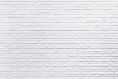 Abstracte witte bakstenen muur Kan voor achtergrond worden gebruikt Stock Fotografie