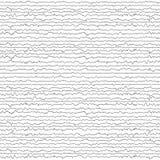 Abstracte Witte en zwarte Willekeurige chaotische lijnentexturen Grunge o royalty-vrije illustratie