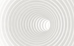 Abstracte Witte Geometrische Achtergrond 3d geef terug Royalty-vrije Stock Fotografie