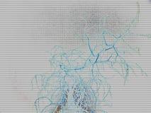 abstracte witte lapwerk dode boom en nevel van waterspiegel ru stock afbeeldingen