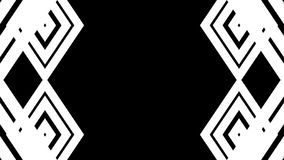 Abstracte witte lijnen De achtergrond van de technologie Royalty-vrije Stock Afbeelding