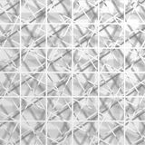 Abstracte Witte Vierkante Behangachtergrond Stock Afbeeldingen