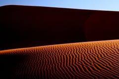 Abstracte woestijn Royalty-vrije Stock Afbeelding
