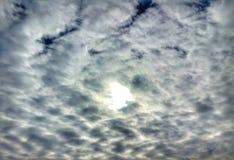 Abstracte wolken Stock Foto's