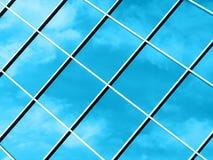 Abstracte Wolken - Blauw Stock Afbeelding