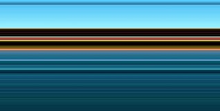Abstracte zachte blauwe gouden tegenover elkaar stellende lijnen abstracte achtergrond Stock Afbeelding