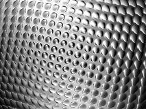 Abstracte zilveren buil glanzende achtergrond Royalty-vrije Stock Fotografie
