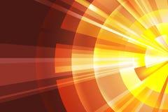 Abstracte zonneschijn stock foto's